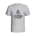 T-Shirt RAMPAGE IN THE BOX Keep Calm And Cogliere Le Olive