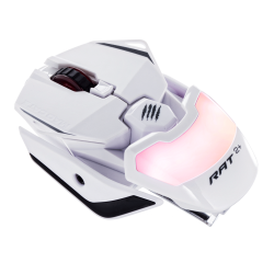 Mad Catz Mouse RAT 2 PLUS bianco