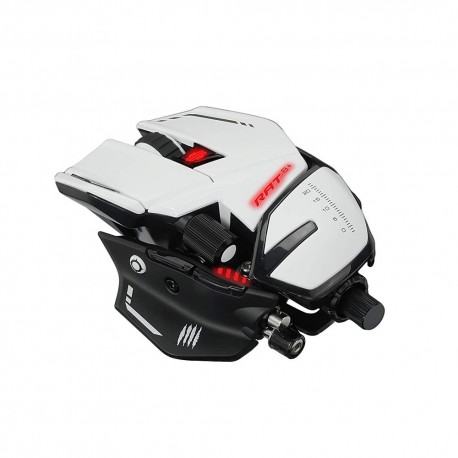 Mad Catz Mouse RAT 8 PLUS bianco